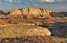 The Muddy Creek proposed wilderness in the San Rafael Swell travel management area.