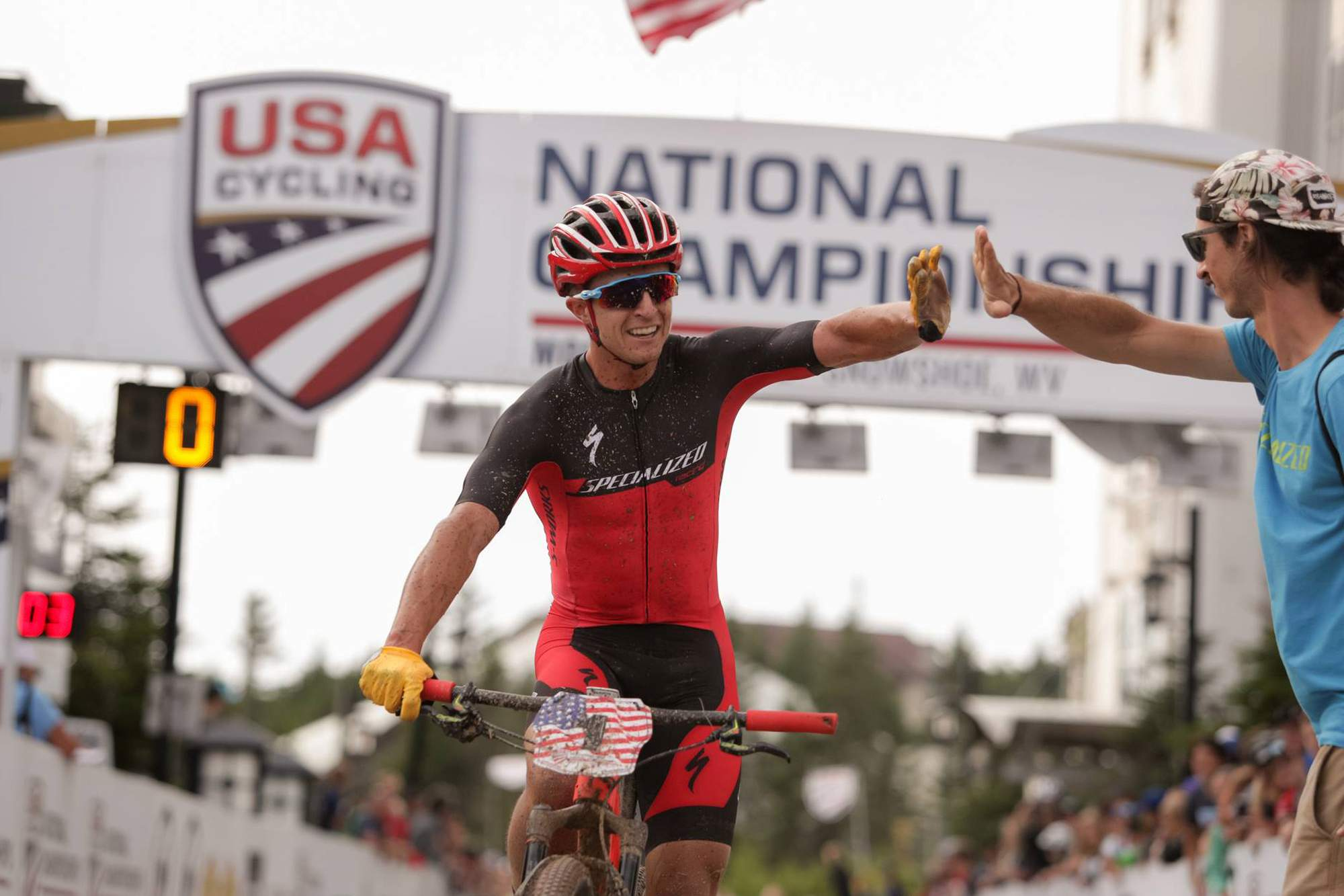 Durango Colorado Howard Grotts wins third consecutive cross country mountain bike national championship News 60x60 image