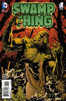 "In 1971, Len Wein co-created the Swamp Thing (""The House of Secrets No. 92"") with Bernie Wrightson."