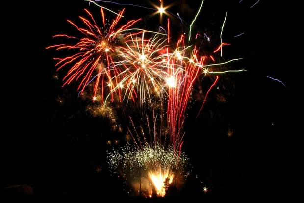 Fourth of July fireworks that were never launched this summer because of the severe fire danger will be shot off Nov. 11, Veterans Day, in Durango.