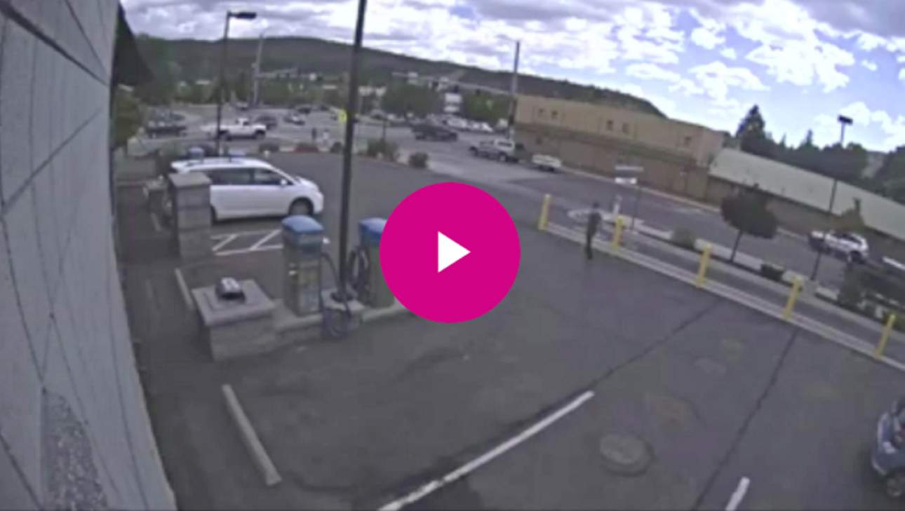 Video surveillance from Durango Rapid Wash shows a speeding...